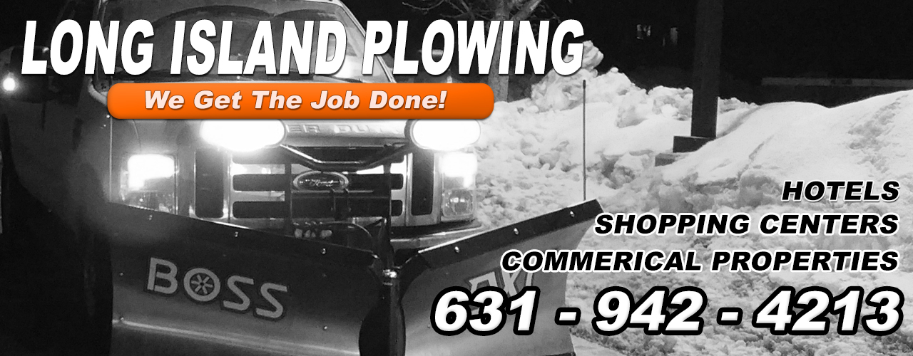 Snow Plowing Snow Removal Long Island NY
